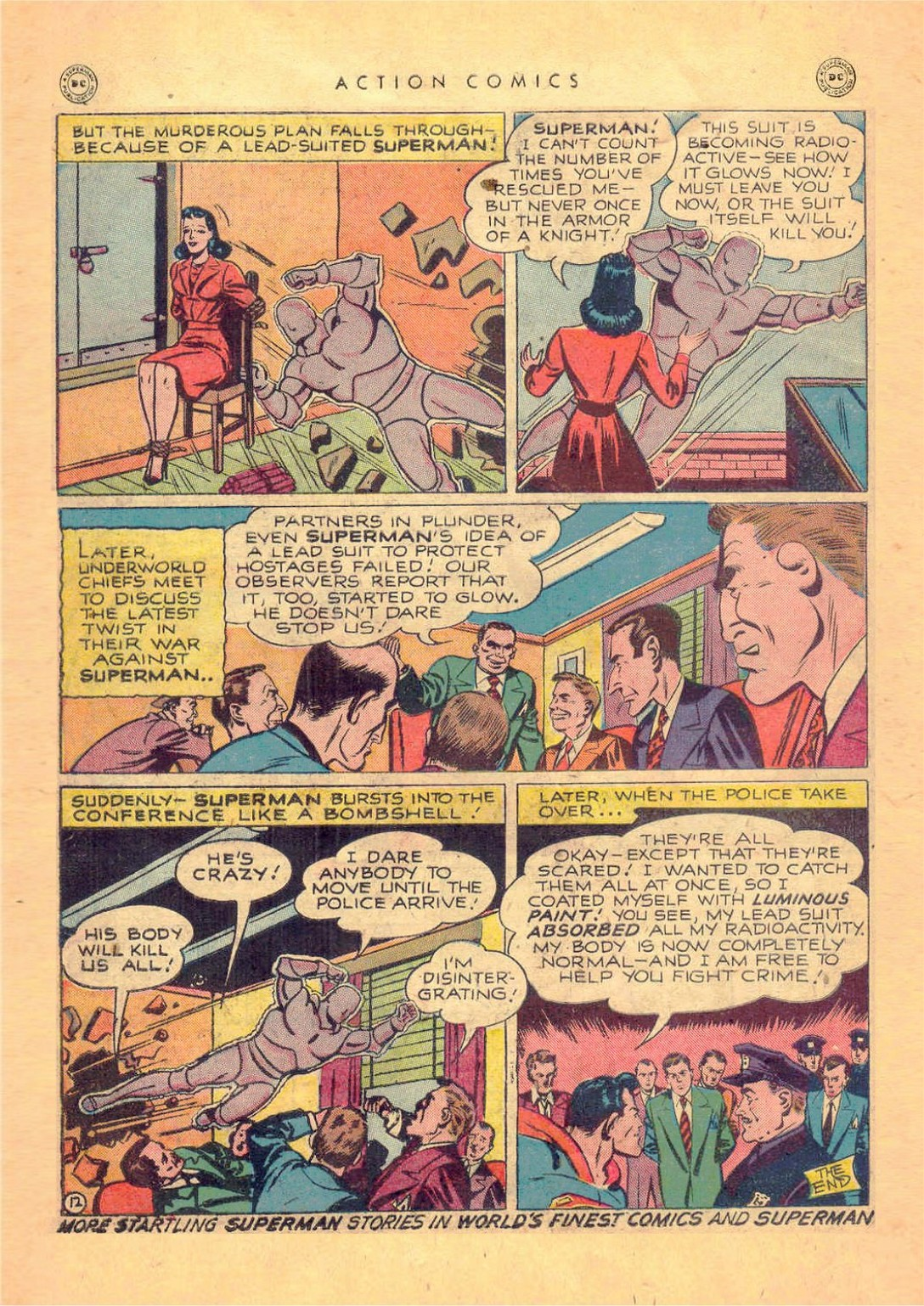 Read online Action Comics (1938) comic -  Issue #124 - 14