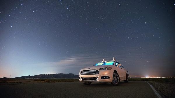 Ford prueba el Mondeo autónomo en calles totalmente oscuras con sensores LiDAR