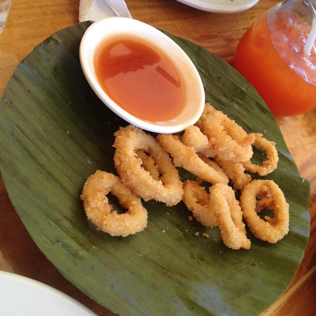 Calamares at Lantaw Native Restaurant