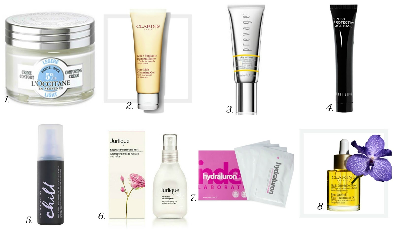 My Summer Skincare Wishlist, Featuring L'Occitane, Clarins, Bobbi Brown, Jurlique and More