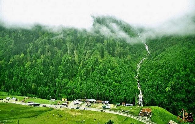احداثيات السياحة لقرية ايدر