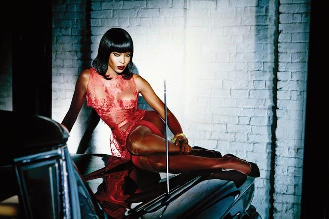 Naomi Campbell Plays Femme Fatale for Agent Provocateur s Scandalous Spring   15 Campaign. fa50d57a6