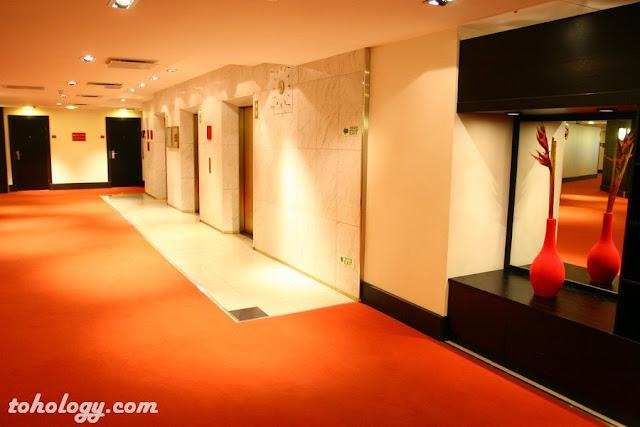 a floor in the hotel Crowne Plaza Helsinki