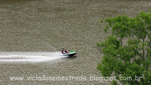 Esportes aquáticos no Rio das Antas
