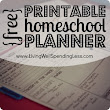 BIG FAMILY MAMA: Free Printable Homeschool Planner