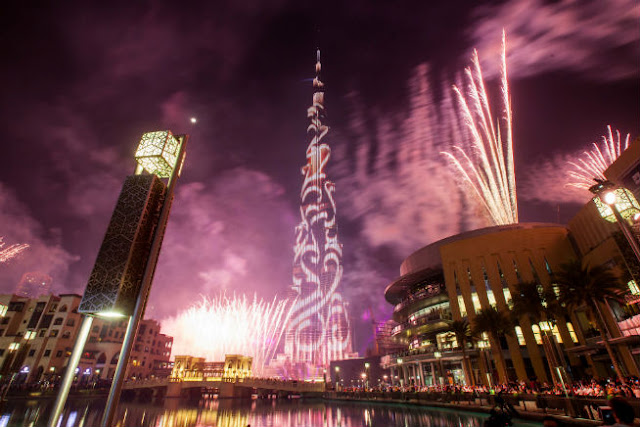 New Year 2018 Celebration in Dubai
