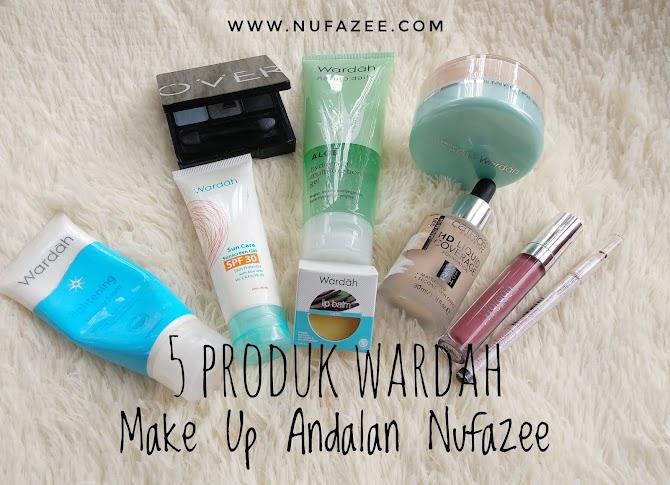 5 Produk Wardah Make Up Andalan Nufazee