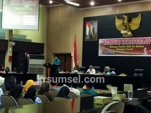 Sekda Sumsel Buka Seminar Kebangsaan Pemuda