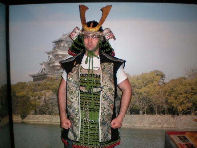 Disfraz armadura japonesa