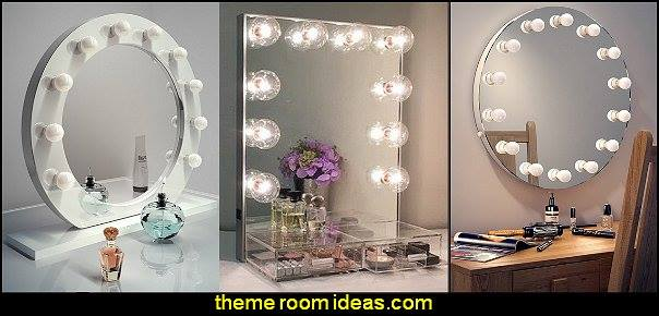 hollywood mirrors beauty salon theme bedroom ideas - Hair Salon theme decorating ideas - Beauty Salon Decor Ideas - Beauty salon themed bedroom - decorating ideas beauty salon theme - Makeup Room Decor