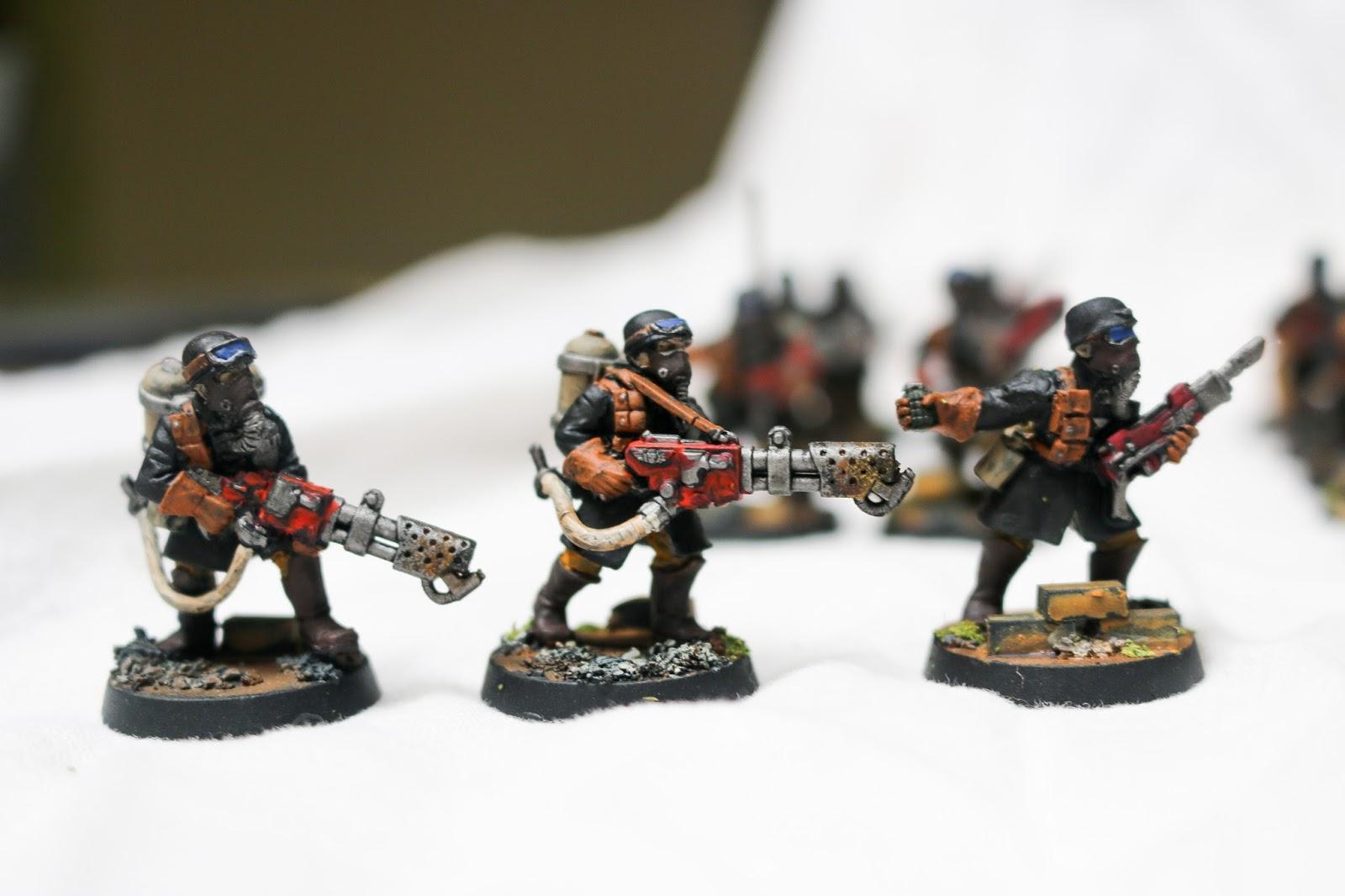 Lasgunpacker: Steel Legion Closeups