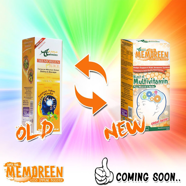Memoreen Plus Juice Pek Baru