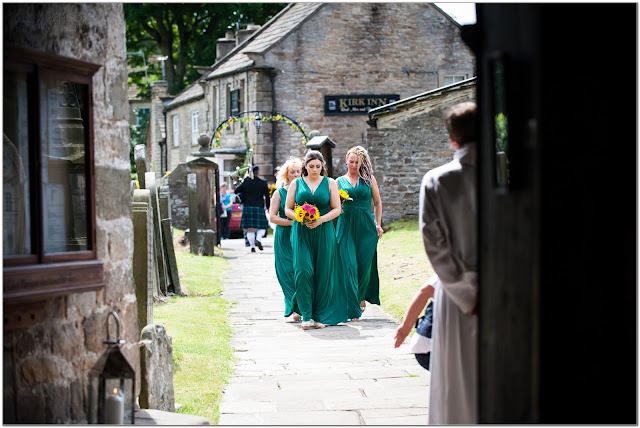 sunflower themed wedding barnard castle