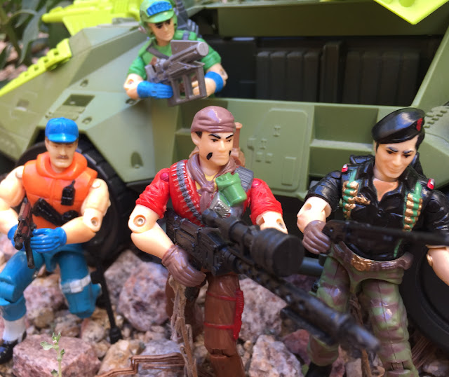Funskool Tunnel Rat, Blaster, Flint, Cutter, Monster Blaster APC, Mega Marines