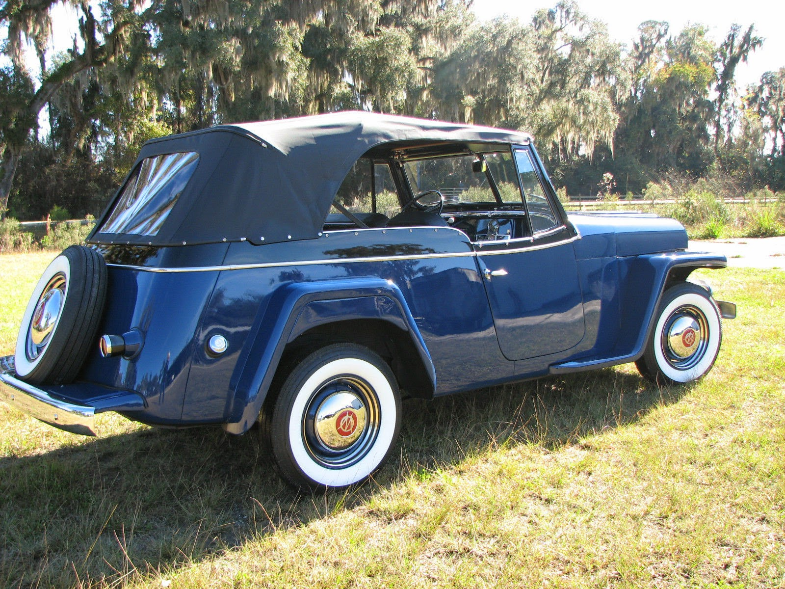 Willys Car: All American Classic Cars: 1950 Willys Jeepster