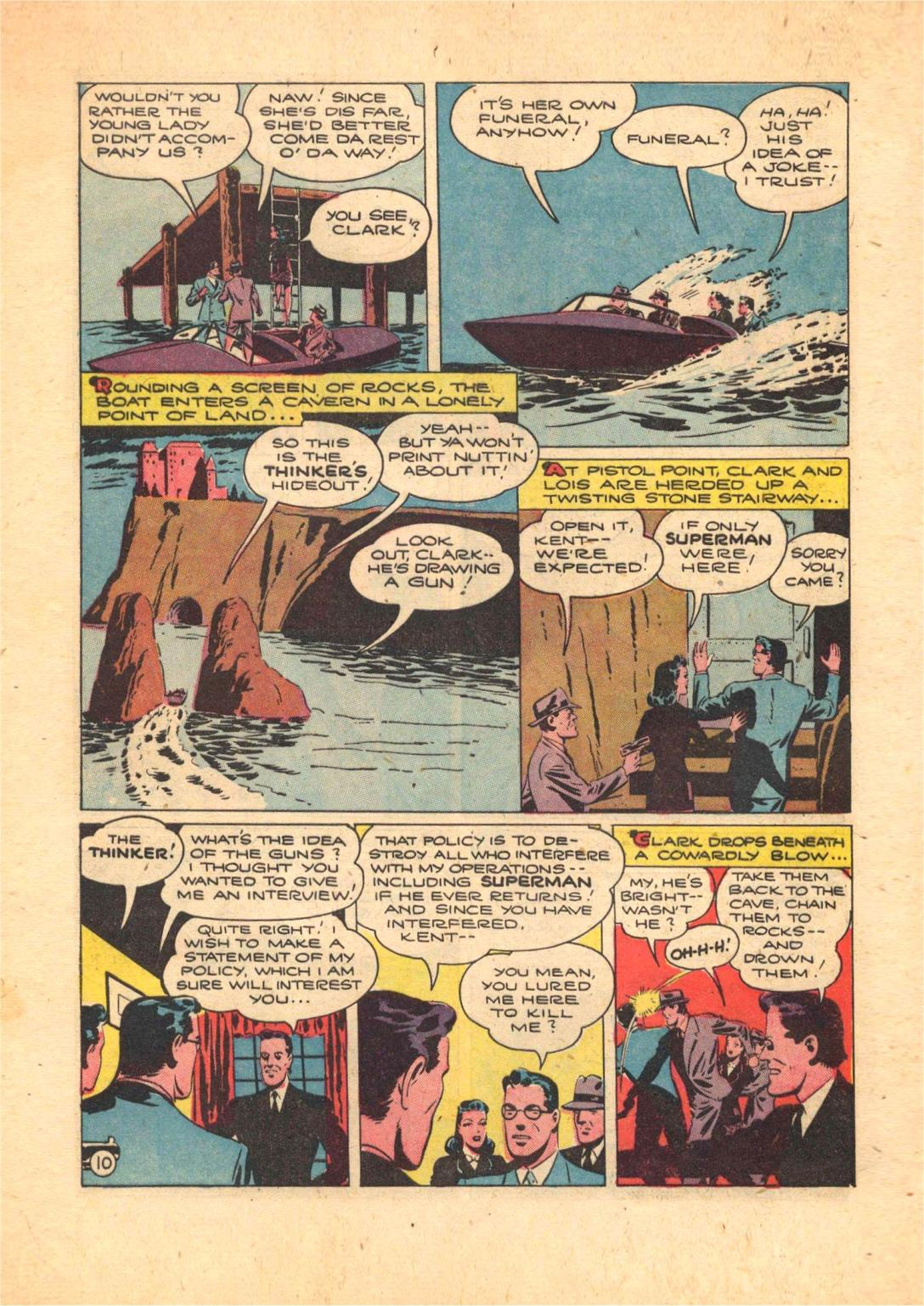 Read online Action Comics (1938) comic -  Issue #70 - 12