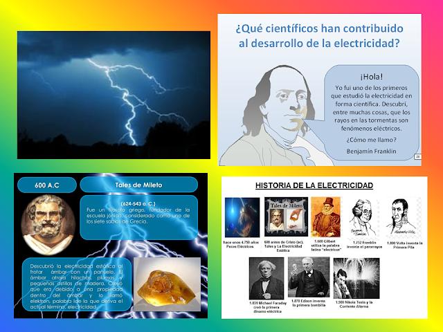 La Historia  de la Electricidad : Resumen