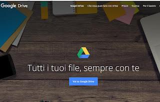 Servizio Google Drive