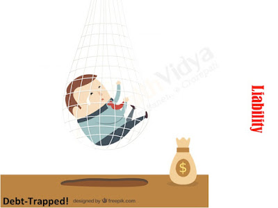 a business man trapped in excess debt