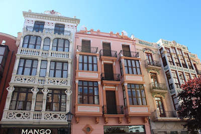 Edifiicios modernistas en Zamora