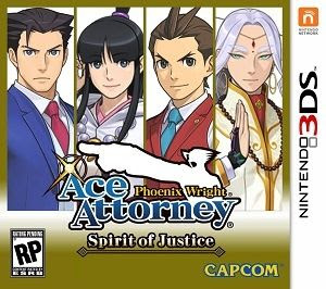 Phoenix Wright: Ace Attorney - Spirit of Justice, 3DS, Español, Mega, Mediafire