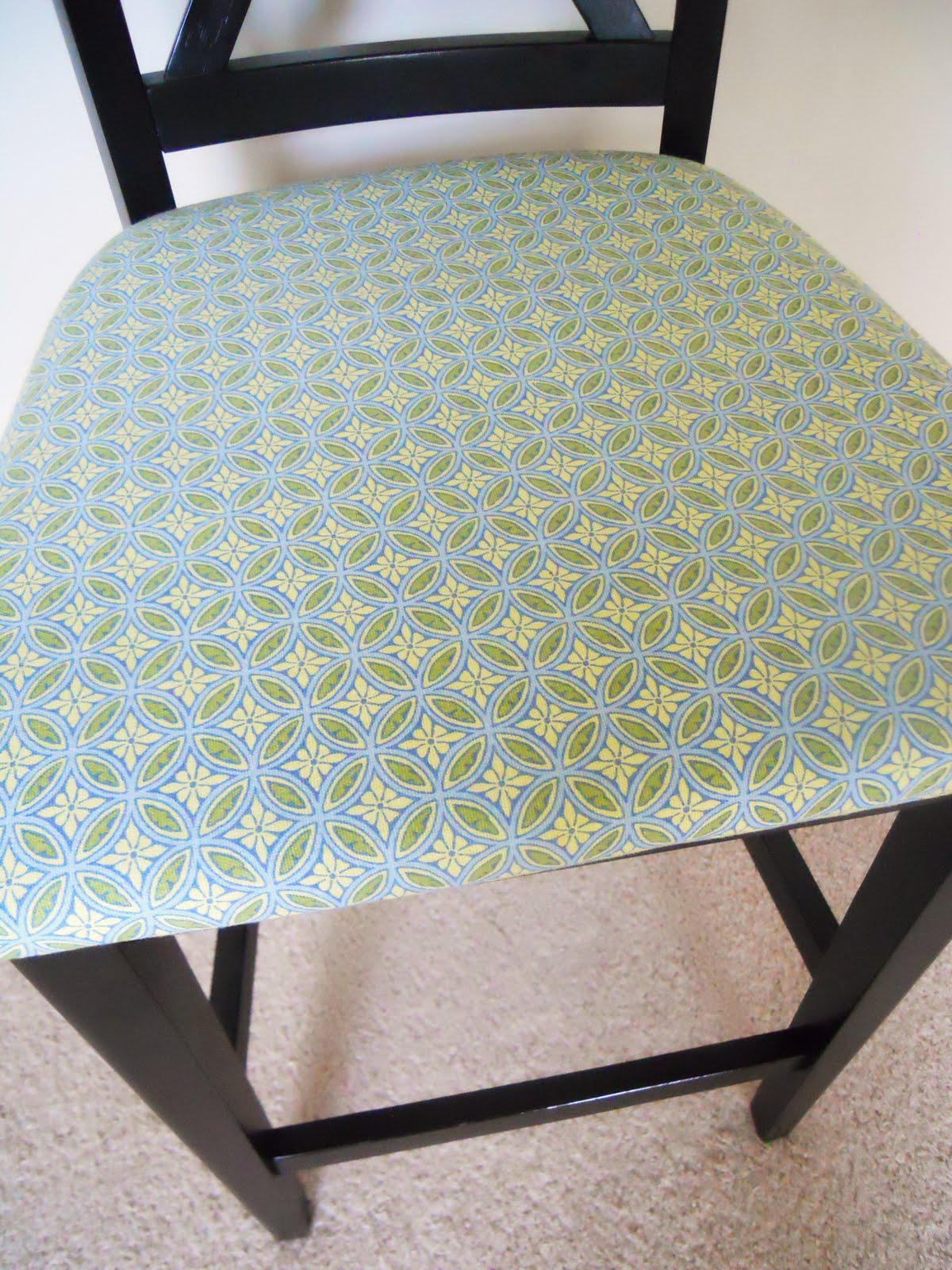 Chair Cushions For Kitchen Chairs How To Reupholster Kitchen Chairs Delightfully Noted