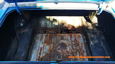 1971 ford torino 500 rust restoration random automotive florida 302 v8