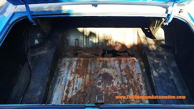 1971 ford torino 500 rust restoration random automotive florida 302 v8