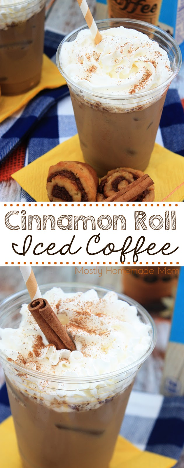 Cinnamon Roll Iced Coffee Recipe