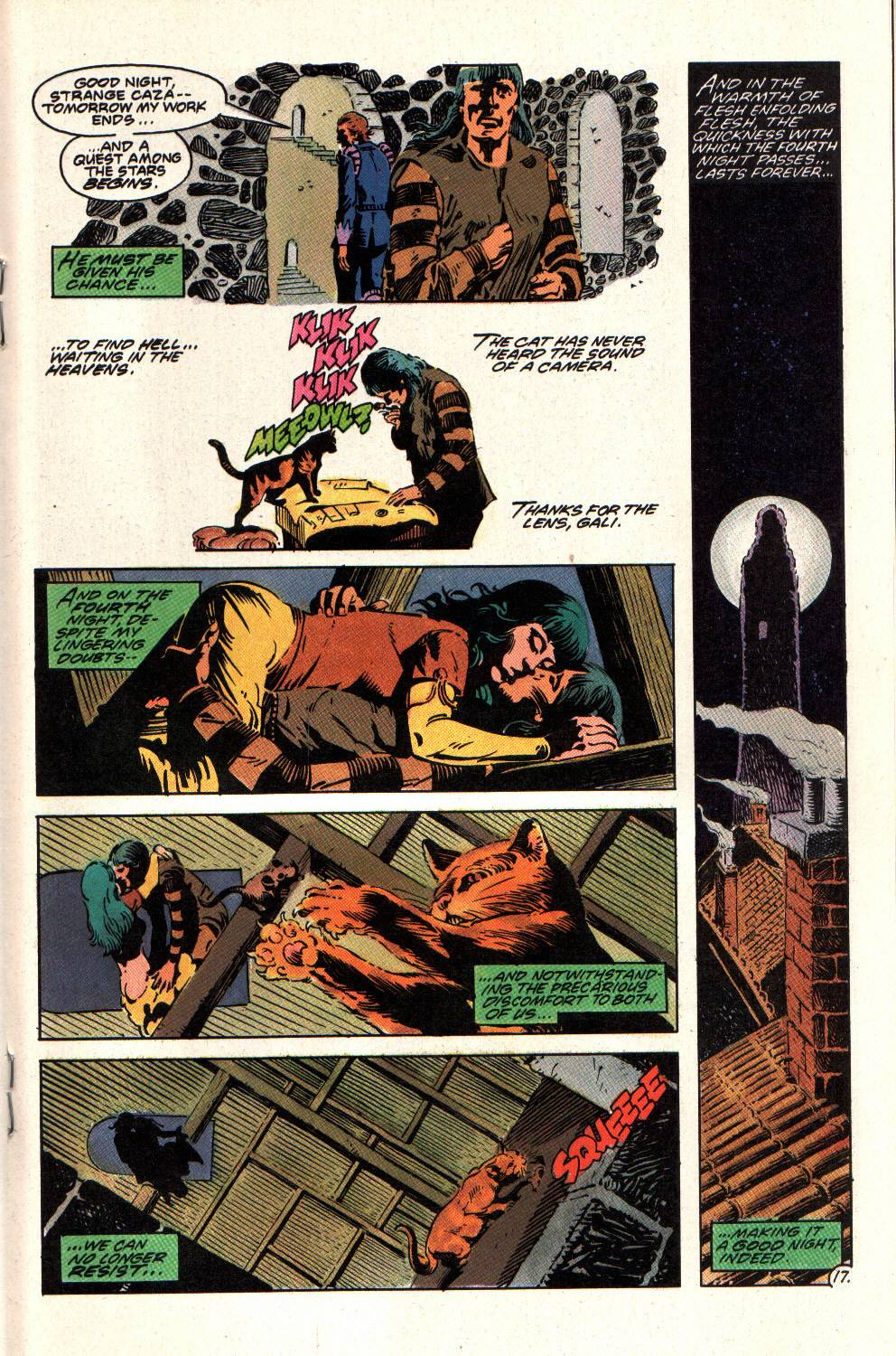 Read online Aztec Ace comic -  Issue #8 - 19