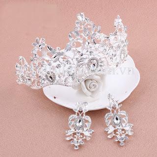 Cách lựa chọn vương miện cô dâu đẹp theo khuôn mặt