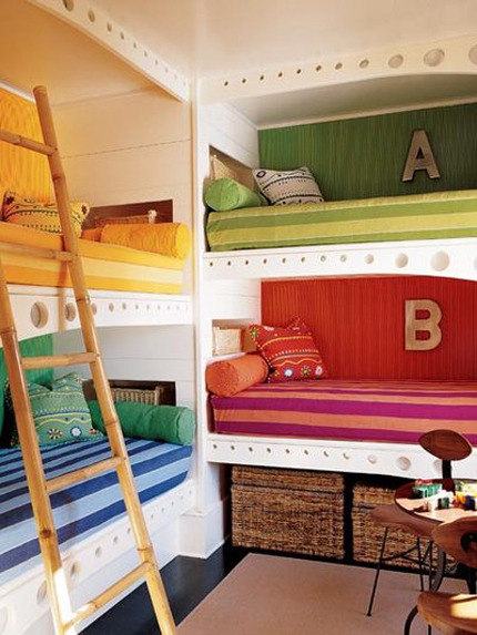 Tiny House Big Ideas Go Vertical With Kid Bunk Bed Solutions