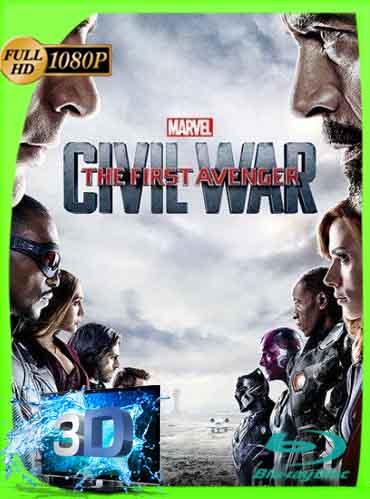 Capitán América Civil War (2016) Latino 3D Full  SBS 1080P [GoogleDrive] dizonHD
