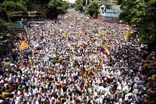 Estos son los puntos de concentración para la Toma de Venezuela de este #26OCT