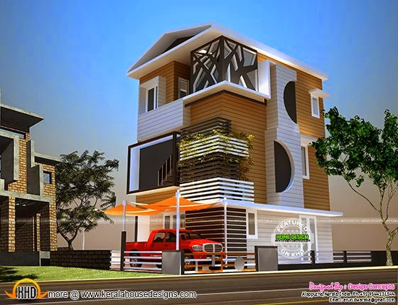 January 2015 - Kerala home design and floor plans - total 3d home design