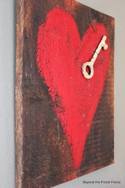 repurposed love and hearts http://bec4-beyondthepicketfence.blogspot.com/2014/02/heart-love-roundup.html