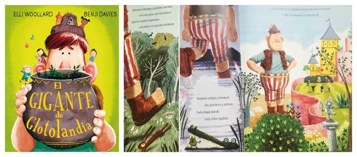 mejores cuentos infantiles 3 a 5 años, libros recomendados gigante glotolandia
