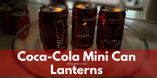 Create Mini Lanterns and #ShareMemories with Giant Eagle + Coca-Cola