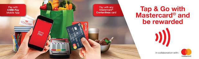 CIMB Pay Mobile App Tap & Go Mastercard Contactless Card