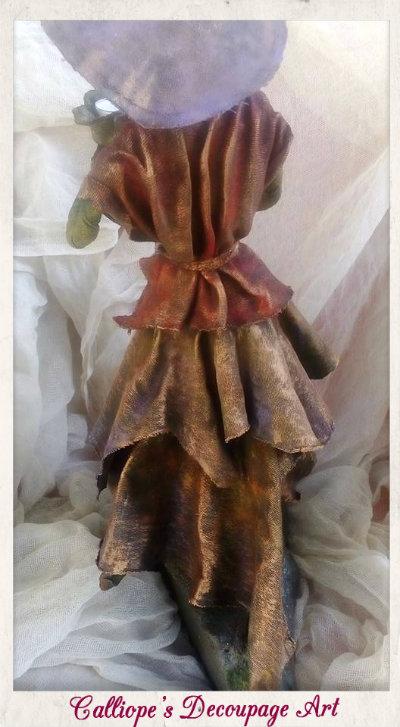 γυναικειο αγαλματιδιο με powertex,powertex δημιουργιες γυναικειο αγαλματιδια calliopes decoupage art