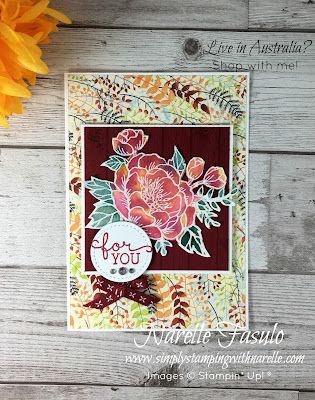Learn how to do this different watercolour technique - Simply Stamping with Narelle - Buy all the supplies you need to make this card here - https://www3.stampinup.com/ecweb/default.aspx?dbwsdemoid=4008228