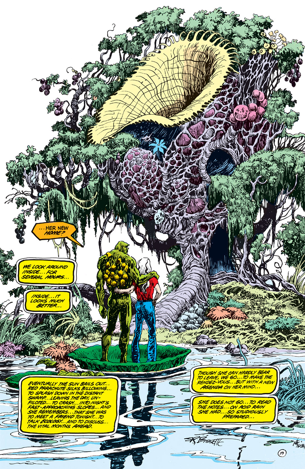 Swamp Thing (1982) Issue #64 #72 - English 20