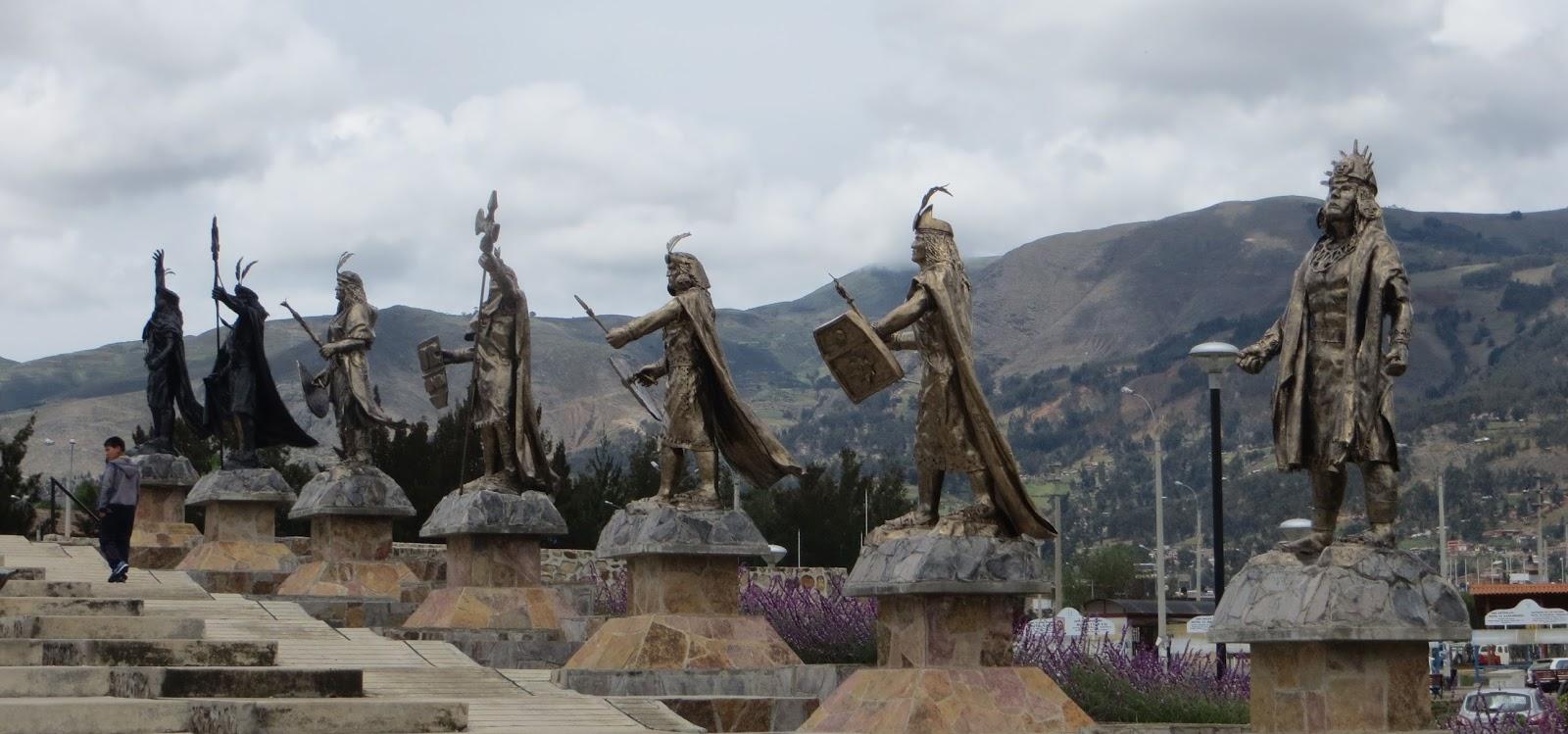 Fotos E Imágenes Del Perú Centro Turístico La Alameda De Los Incas En Cajamarca