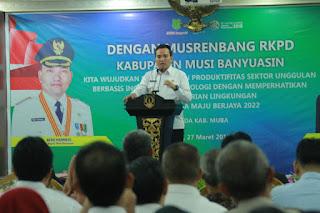 RKPD Muba Harus 'ter-link' Dengan Program Provinsi dan Pusat