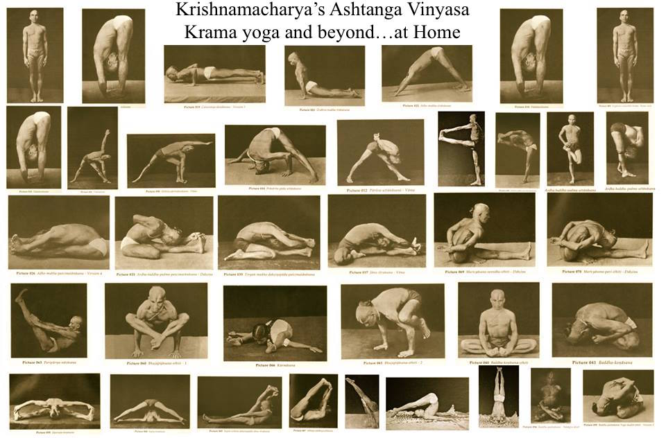 Krishnamacharya's Original Ashtanga Vinyasa Krama Yoga and beyond....... at Home