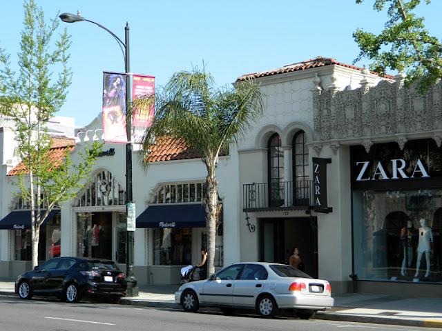 Compras no Old Pasadena em Pasadena