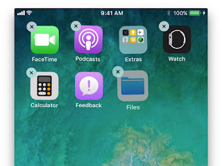 Cara Memindahkan Banyak Aplikasi Sekaligus di iOS 11