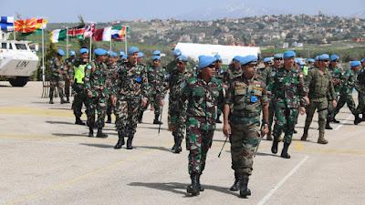 Dansatgas Indobatt XXIII-L Menerima Kunjungan Unit Satuan UNIFIL Sektor Timur Lebanon