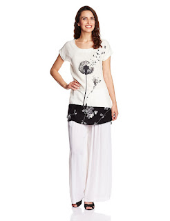 W White Tunic by FashionDiya