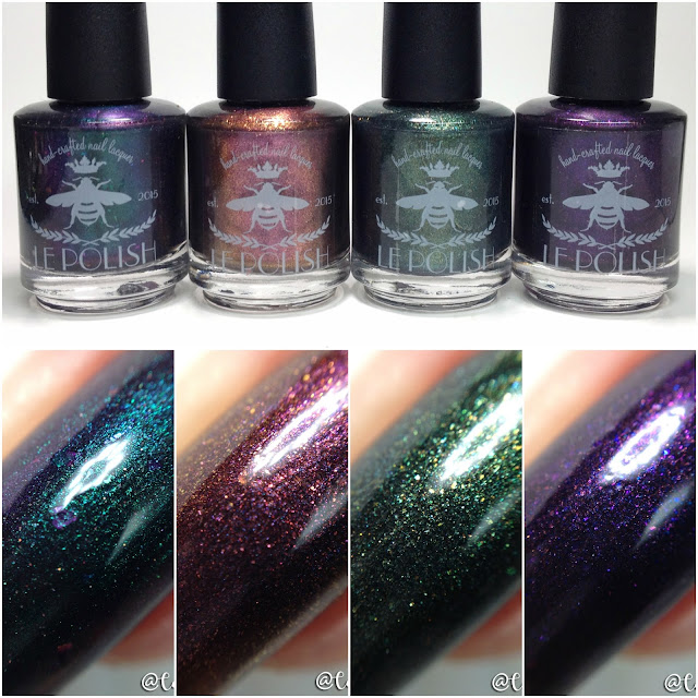 le Polish-Black Hearted Bat Collection